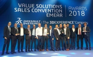 Read more about the article Exemplar is DASSAULT SYSTEMES's PLATINUM Partner 2018