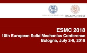 Read more about the article 10th European Solid Mechanics Conference, Bologna (ESMC), Bologna